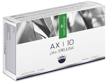AX¦10 {45 sublinguale Lutschtabletten à 20 mg NADH + Spirulina}